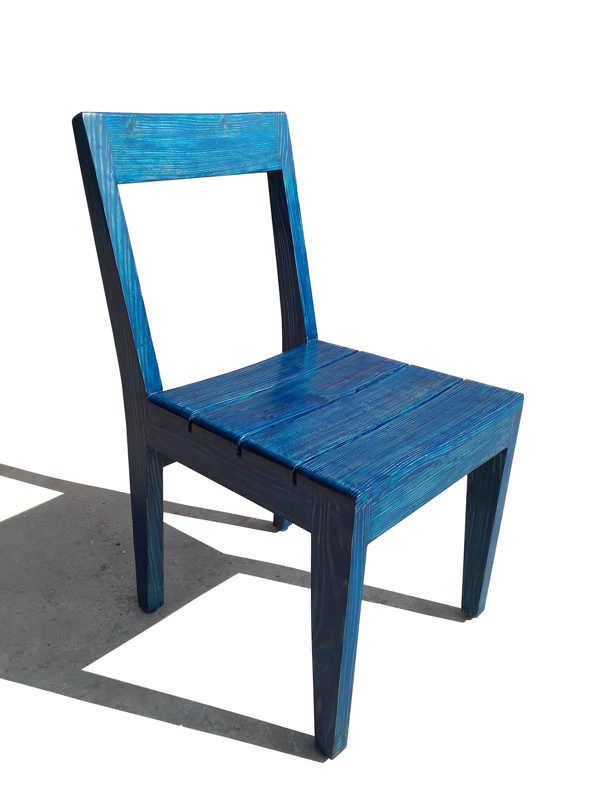 Wooden Colour Chair by The Beehive India
