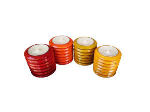 Channapatna Tealight Candle Holder by The Beehive India