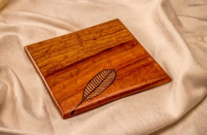 Handmade Wood Inlay Trivet by The Beehive India