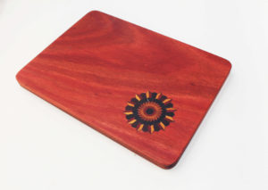 Wooden Inlay Platter by The Beehive India