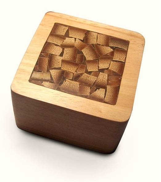 Bamboo Inlay Paperweight by The Beehive India
