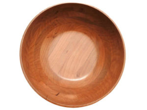 Wooden Fruit Salad Serving Bowl