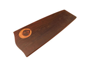 Wood Inlay Long Platter by The Beehive India
