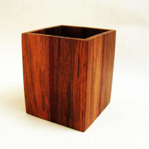 Wooden Cutlery Holder by The Beehive India