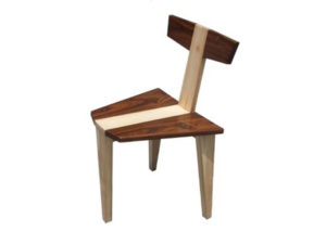 Wooden Tripod Chair by The Beehive India