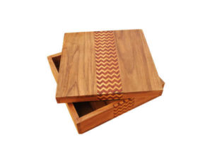 Wooden Inlay Box by The Beehivde India