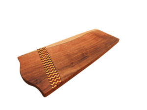 Long Zig Zag Inlay Platter by The Beehive India