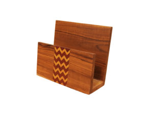 Wooden Inlay Napkin Holder by The Beehive India