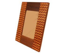 Wooden Inlay Photoframe by The Beehive India
