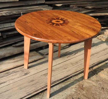 Wooden Dining Table by The Beehive India