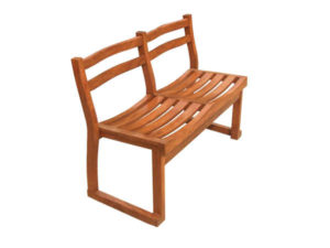 Wooden Twin Seater Chair by The Beehive India