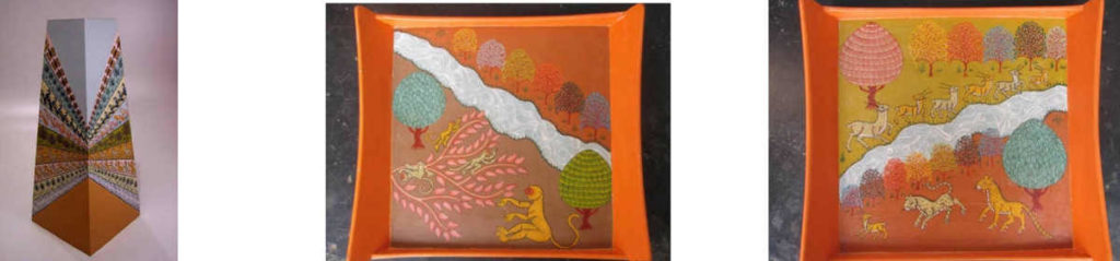 Handicraft Pattachitra Art products by The Beehive India
