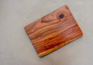 Wood Inlay Knot Chopping Board