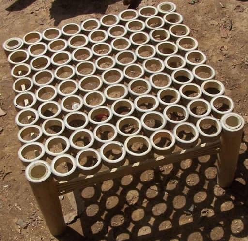 Bamboo Stool by The Beehive India