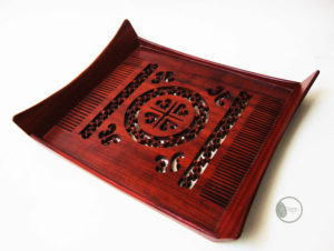 Handmade Wooden Comb Tray by The Beehive India