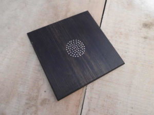Tarkashi Inlay on wood Trivet by The Beehive India
