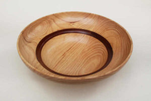 Wooden Salad Fruit Serving Bowl by The Beehive India