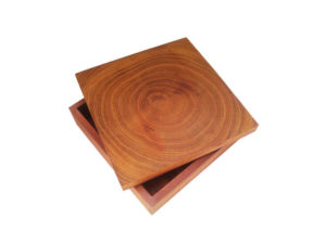 Wooden Round Box by The Beehive India