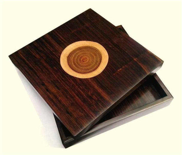 Wooden Inlay Box by The Beehive India