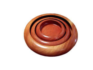Wooden Serving Bowl Set by The Beehive India