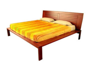 Wooden Bed by The Beehive India