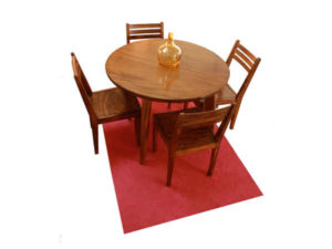 Wooden Dining Chair & Table Set by The Beehive India