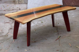 Wooden Coffee Table by The Beehive India